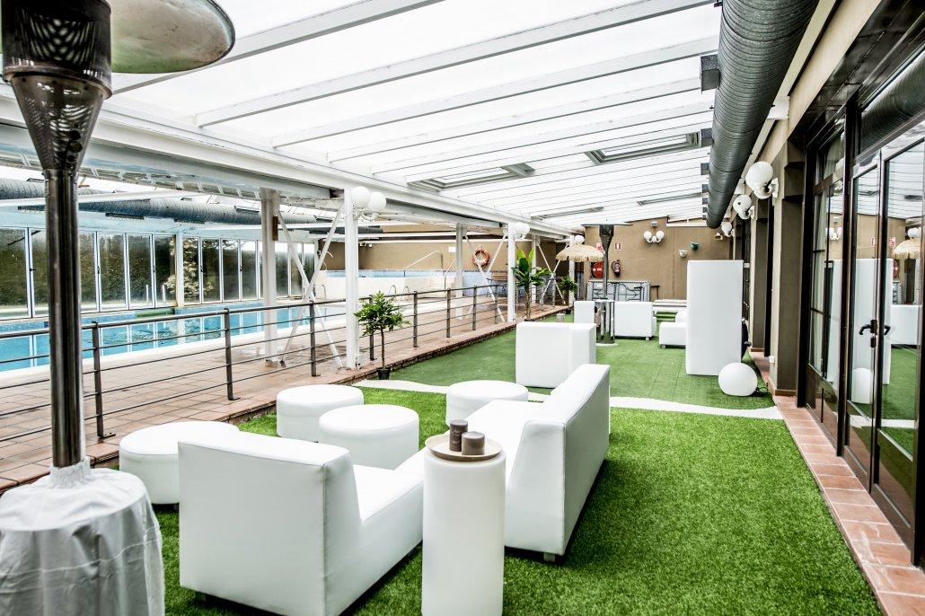 Hotel segovia sierra de guadarrama angeles de san rafael for Hotel piscina segovia