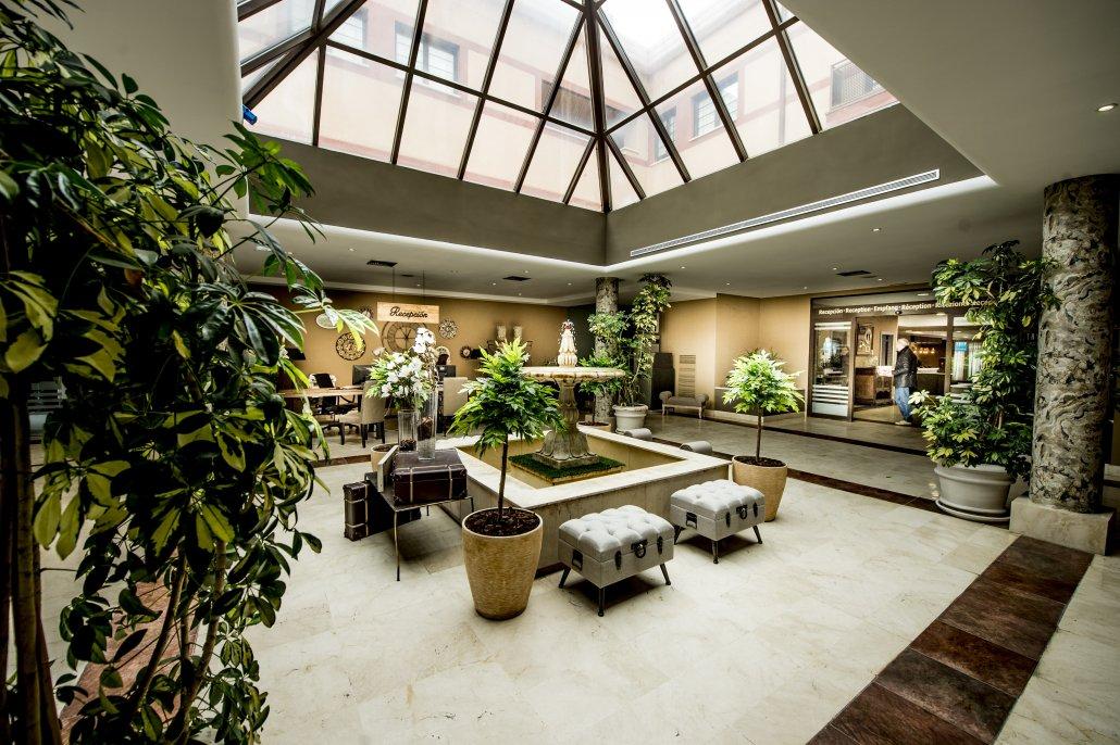 Habitaci n hotel segovia sierra piscinas ngeles de san rafael - Piscina climatizada segovia ...
