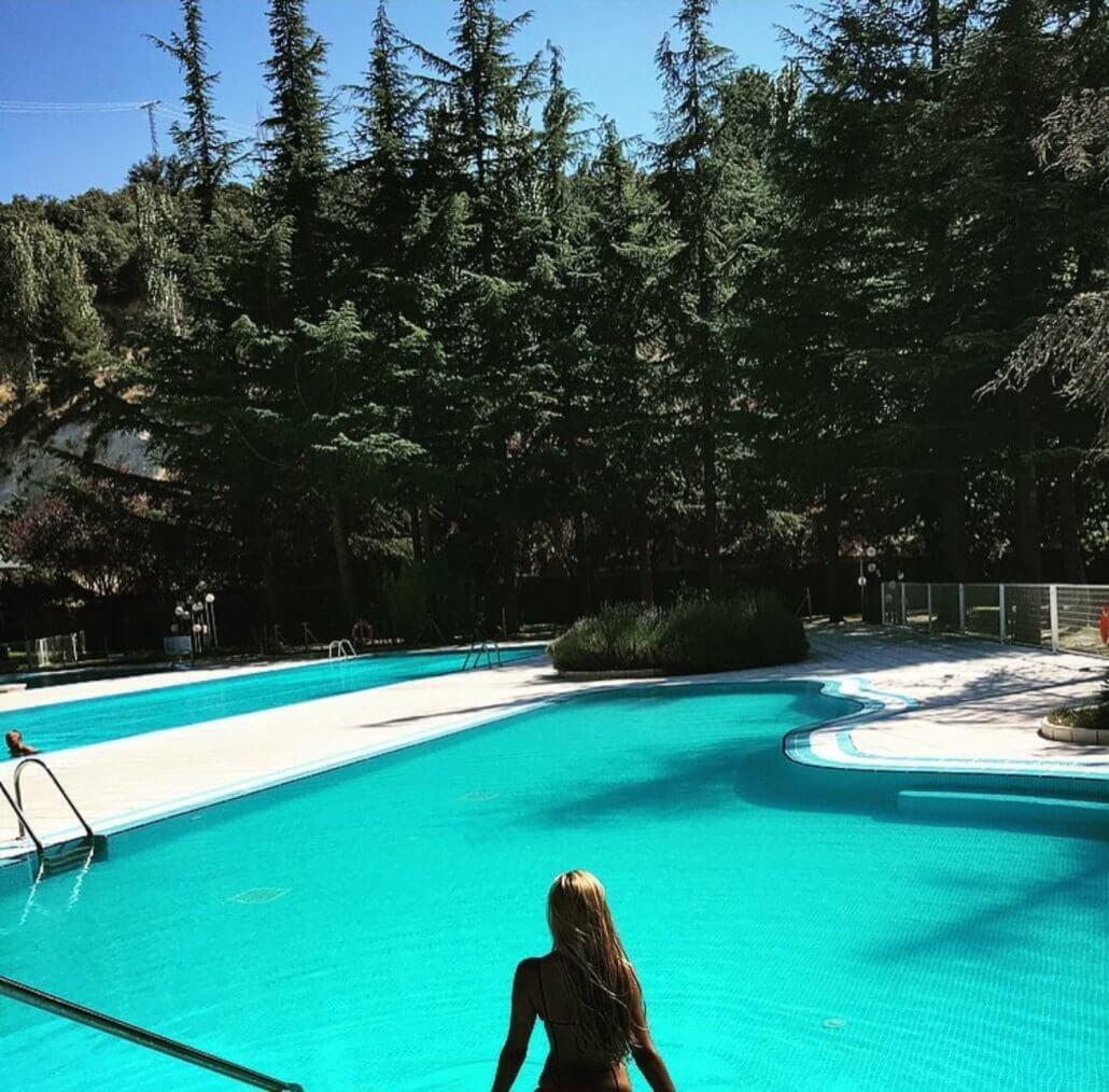 Oferta express hotel segovia sierra angeles de san rafael for Hotel piscina segovia