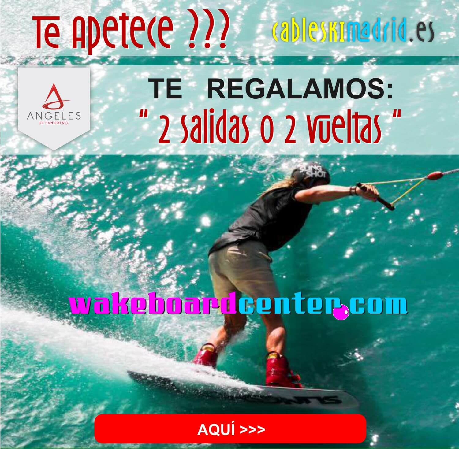 Oferta Cable Ski Los Angeles de San Rafael