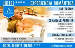 Los angeles de San Rafael   Hotel Segovia Sierra