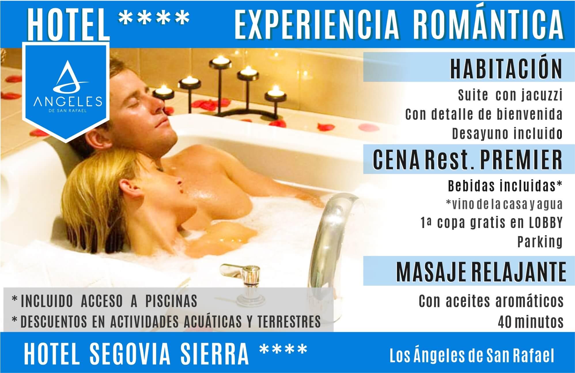 Los angeles de San Rafael | Hotel Segovia Sierra