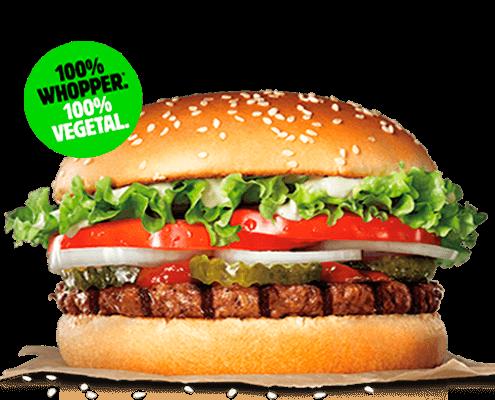 Burger King Whopper Vegetal Angeles de San Rafael