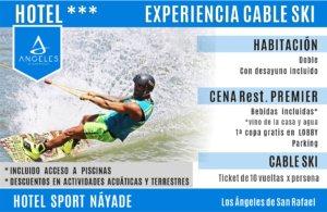 Experiencia Hotel + Cableski