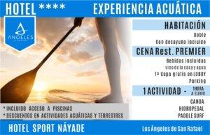HOTEL SPORT NAYADE EXPERIENCIA ACUATICA + HOTEL
