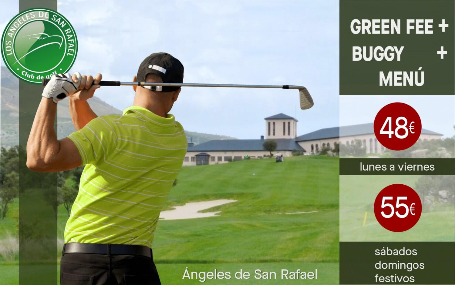 Golf y Menú Angeles de San Rafael